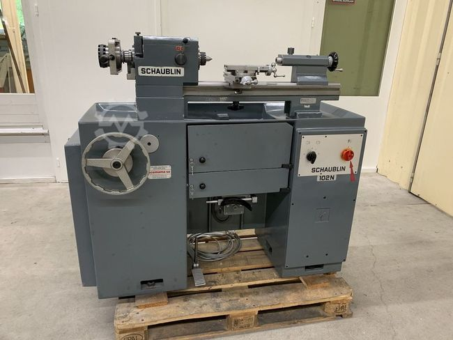 Schaublin 102N-80 TO W-25