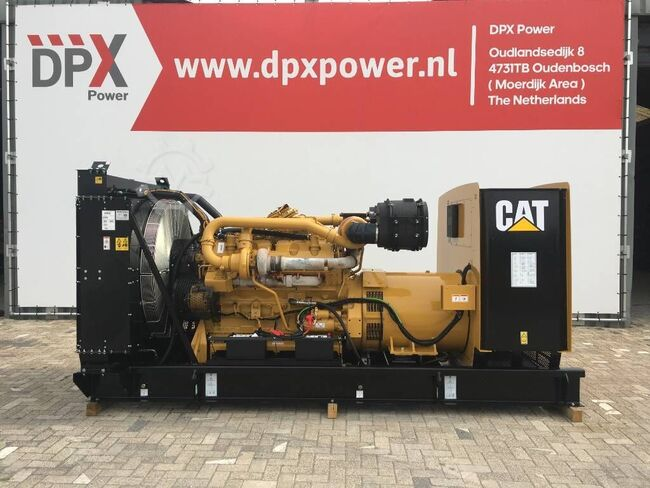 Caterpillar 3412 - 900F - 900 kVA Generator - DPX-18033-O