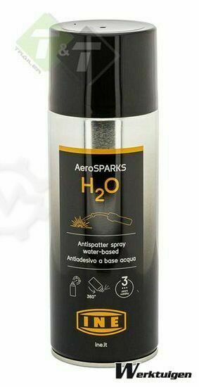 I.N.E. Antispatspray aerosparks waterbasis, Las spray 400