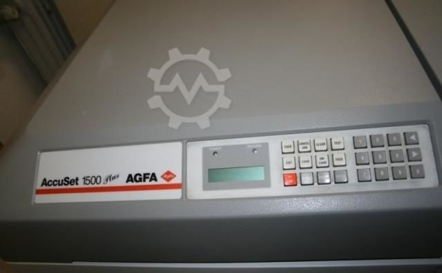 AGFA AccuSet 1500 plus OLP