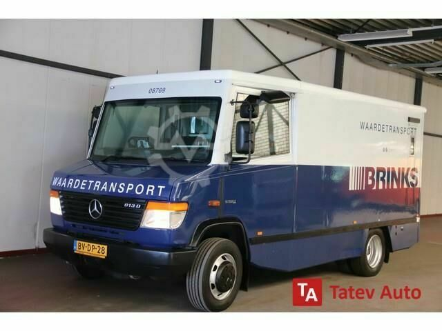 Mercedes-Benz Vario Cash In Transit Armored Vehicle Money Truck