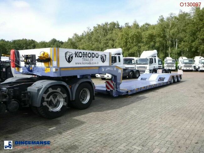 KOMODO 3-axle Lowbed KMD 3 + 3 steering axles / NEW/UNUSE