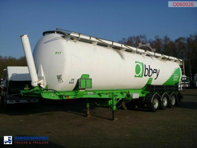 METALAIR-FILLIAT Powder tank alu 59 m3 (tipping)