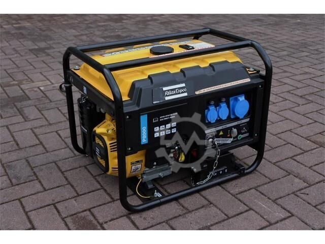 Atlas Copco P8000 New, Valid inspection, *Guarantee! Gasoline,