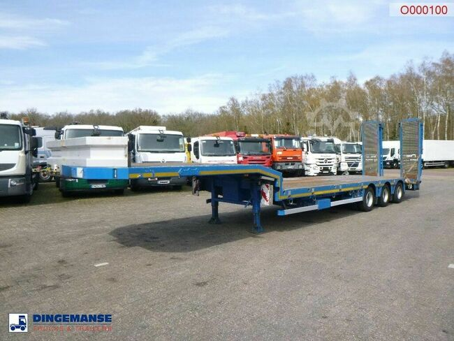 Nooteboom 3-axle semi-lowbed trailer + ramps OSDS-48-03