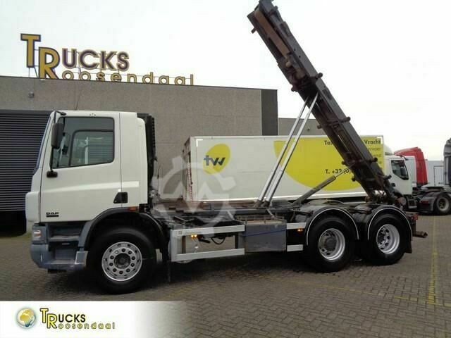 DAF CF 75.310 Manual container system 304119 KM!