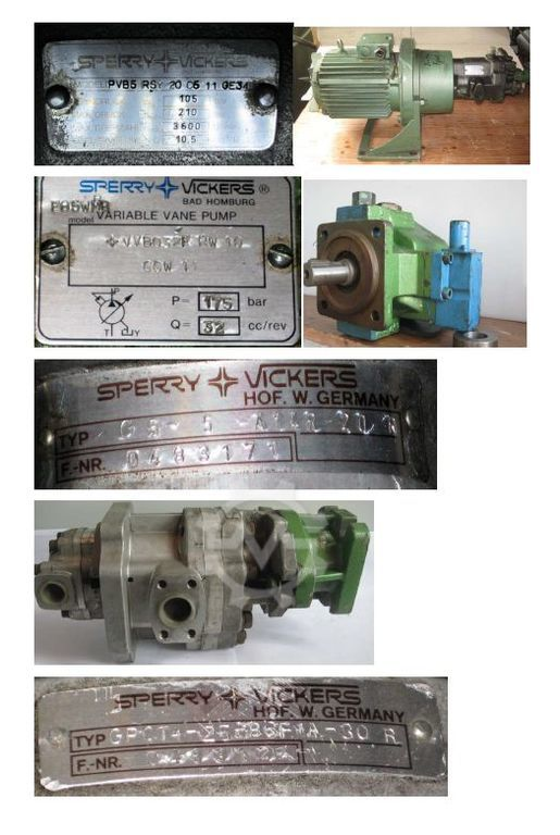SPERRY VICKERS Dimter / GreCon