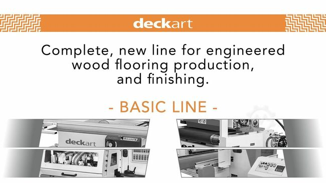 Engineered Wood Flooring Production Line Complete Production and Finishing Line