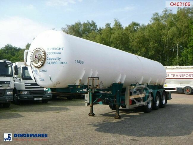 Clayton Gas tank steel 34.5 m3 (low pressure 10 bar)