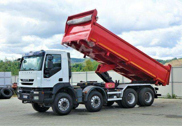 Iveco Trakker 360 Kipper + Bordmatic 6,20m 8x4 !!