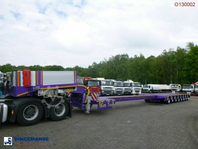 KOMODO 8-axle lowbed trailer KMD8 / 31 m / 106 t / NEW/UN