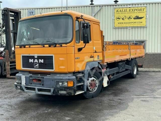MAN 19.403 Open Box NO ENGINE NO GEARBOX