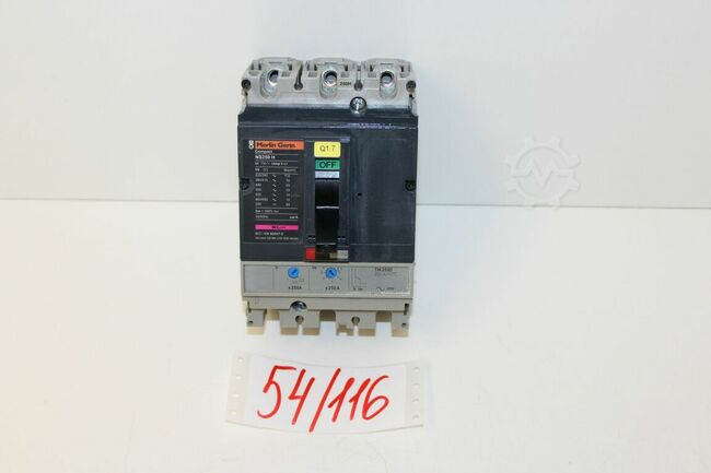 Merlin Gerin Compact NS 250 H