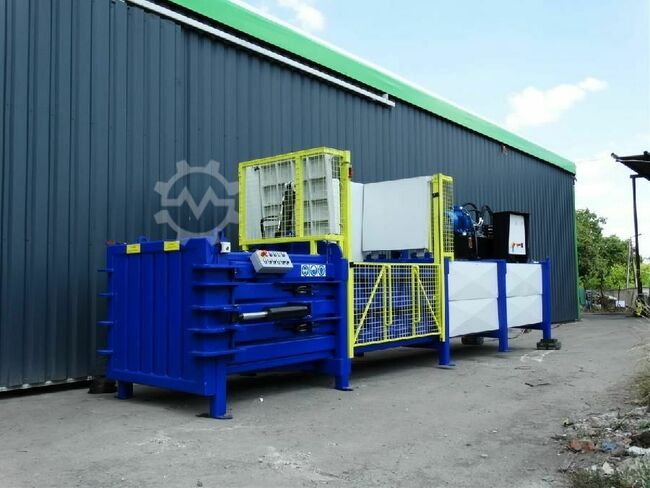 Bartontech baler for foam, rubber and tires