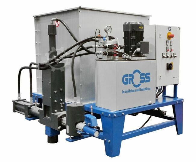 Gross Apparatebau GmbH Brikettierpresse G 1/40