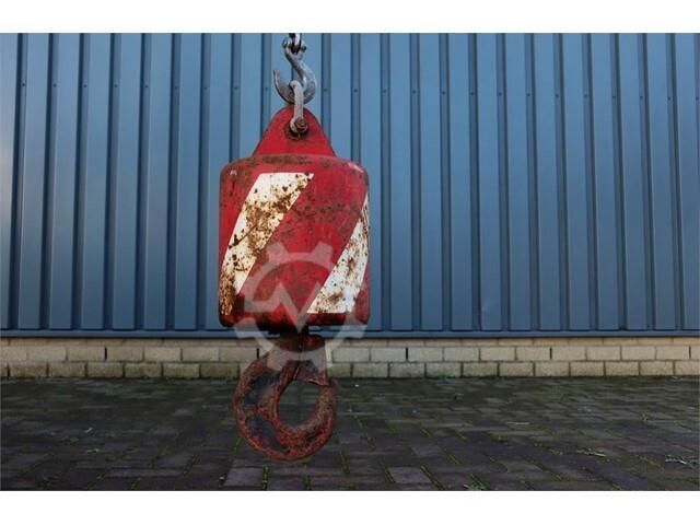 Demag HOOKBLOCK 6t 6t Ball Hook