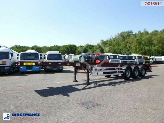 Sonstige/Other Dennison 3 axle container trailer 40 ft