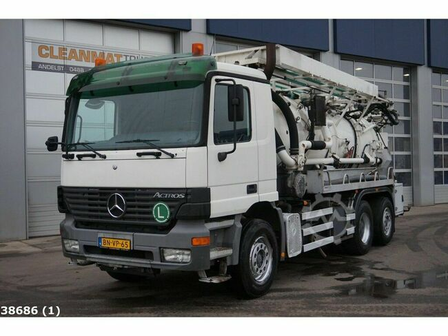 Mercedes-Benz Actros 2543 Kroll Combi Water recycling