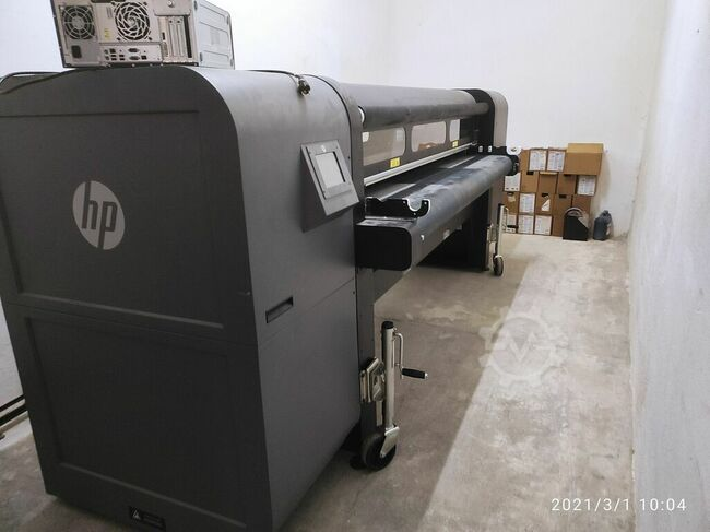 HP. SCITEX FB 750 UV