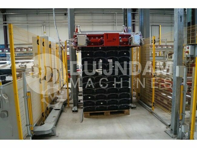 Aweta Automatic box palletizer