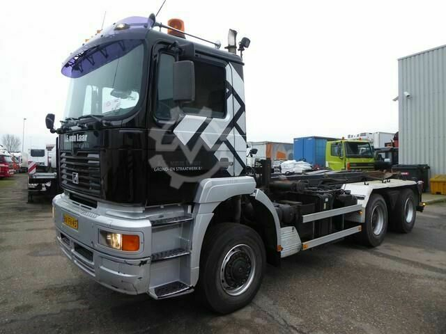 MAN TGA 26 410 DFA 6X6,, euro 3 manual gearbox,
