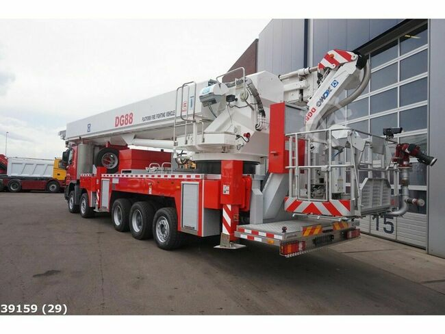 Mercedes-Benz Actros 5548 88 meter Platform fire fighting vehicl