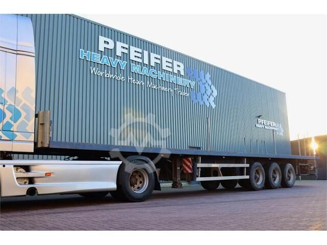 Groenewegen DRO 12 27 3 Axle Trailer, 32t Capacity, BPW Axles