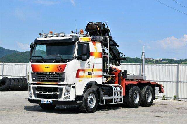 Volvo FH 16 750 Holztransporter * 6x4 ! Top Zustand !