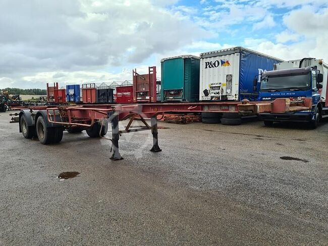Fruehauf ED 32 PC Container chassis 40ft. / 30ft. / 20ft...