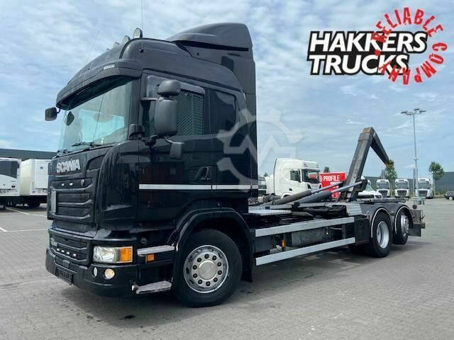 Scania R450 6X2*4 Hooklift scr only,navi,
