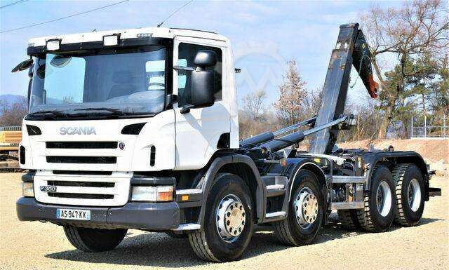 Scania P 360 Abrollkipper 5,70m *8x4* Top Zustand !