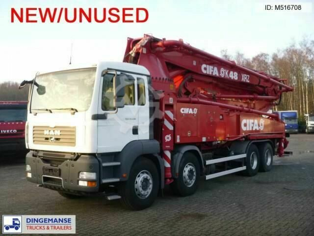 MAN TGA 41.430 Cifa concrete pump 48 m NEW/UNUSED
