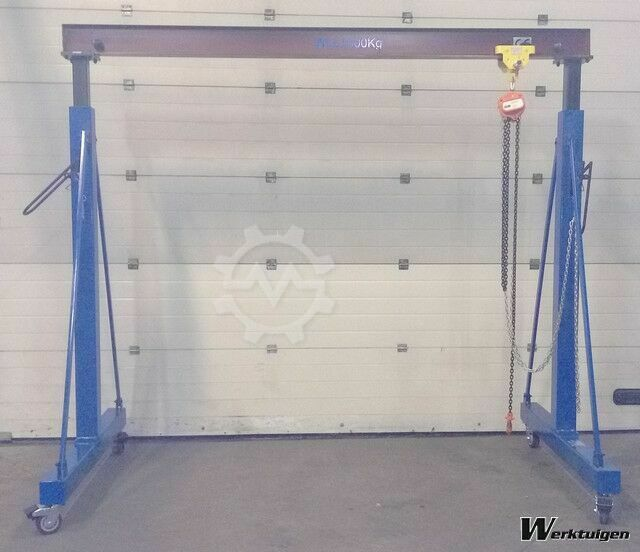 Everlift Verstelbare portaalkraan, 1-ton Heavy Duty 3000 mm