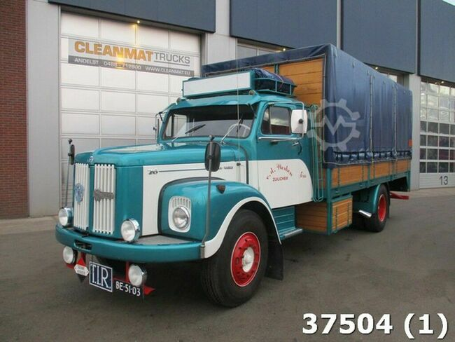 scania-vabis L76-54DR-S in concours staat
