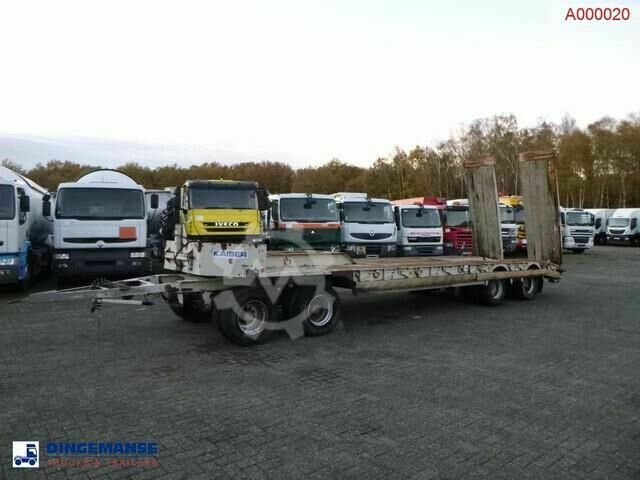 Kaiser 4 axle low_bed trailer
