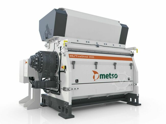 METSO M&J FineShred 3550