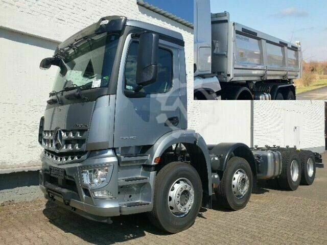 Mercedes-Benz Arocs 3240 8x4 Arocs 3240 8x4, Bordmatik links NSW