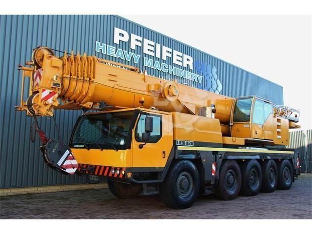 Liebherr LTM1100 5.2 10X8 DRIVE AND 10 WHEEL STEERING, 100T