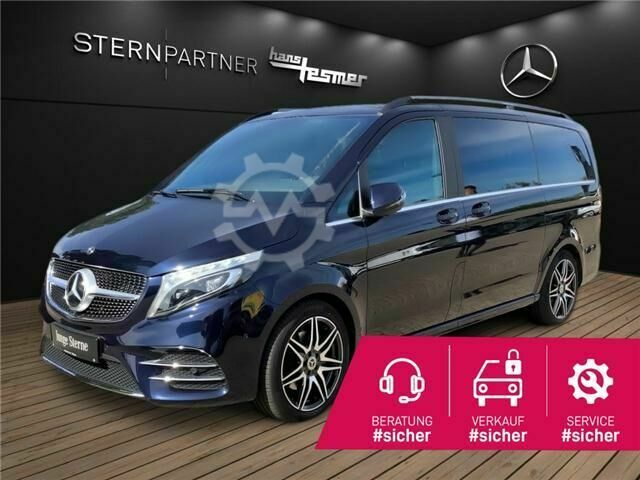 Mercedes-Benz V 250 d Exclusive Edition Lang MBUX/Pano Dach/Uvm.