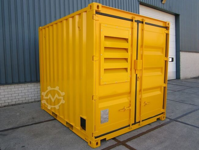 Genpower 10ft. 20ft. container aggregaat 15, 30, 45kVA