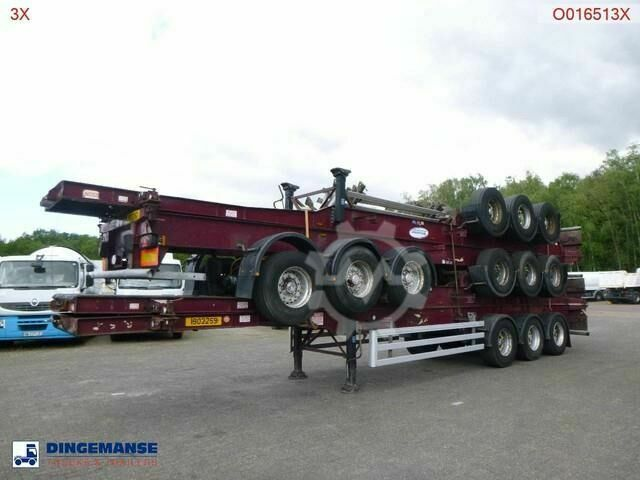 Sonstige/Other Dennison Stack 4 x container trailer 40 ft