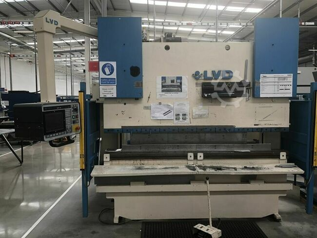 LVD PPEB - EQ 80-25 80 ton x 2500mm Hydraulic Downstroke 6 Axis CNC Press Brake
