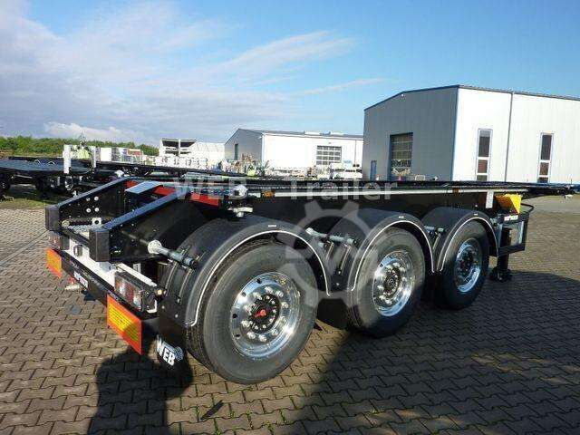 Web Trailers TRAILER COS 24 Tankcontainer 20ft