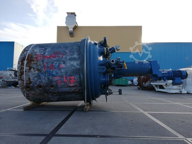 Tycon Italy Tycon, 6,3 m3 - Glass-lined Reactor