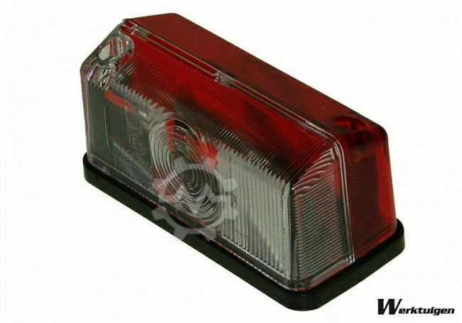 Trailer And Tools Breedte verlichting Rood/Wit