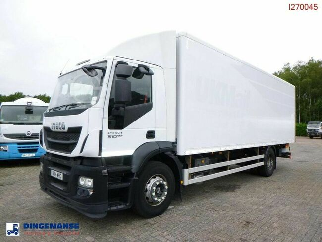 Iveco AD190S 4x2 RHD closed box