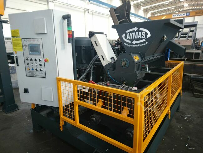 Aymas Recycling Machinery BP 120 Chip Briquetting Press