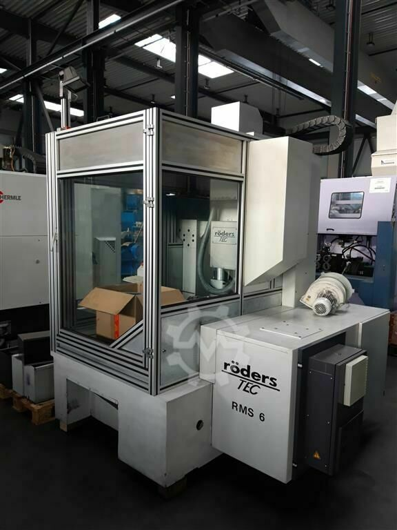 Röders RFM 760/S  4-axis
