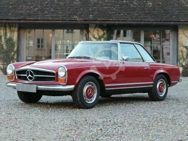 Mercedes-Benz 280 SL W113 Pagode, mit Hardtop, Matching Numbers