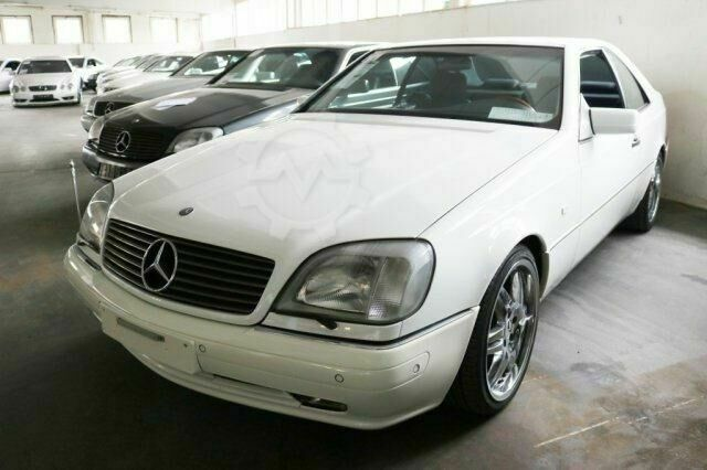Mercedes-Benz S 600 Coupe, CL 600 S 600 Coupe, CL 600, mehrfach